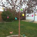Spring Time Easter Egg Tree