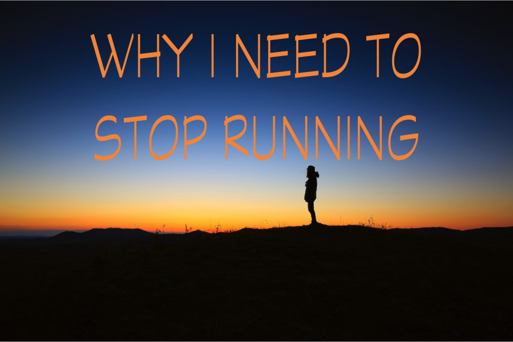 Why I need to stop running to lose weight
