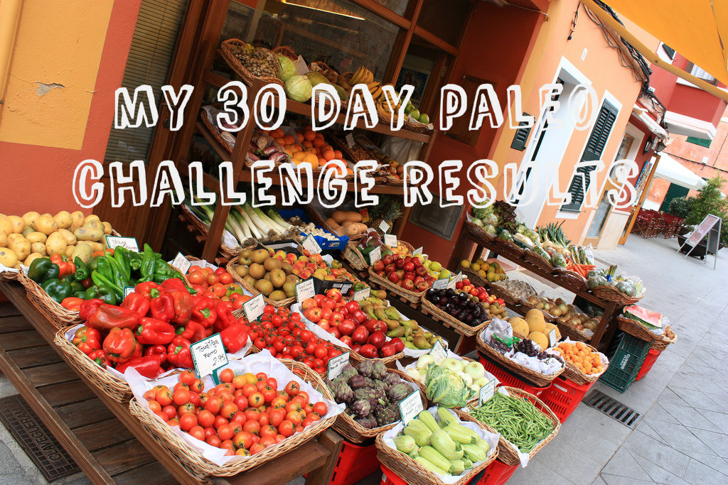 healthy eating paleo challenge